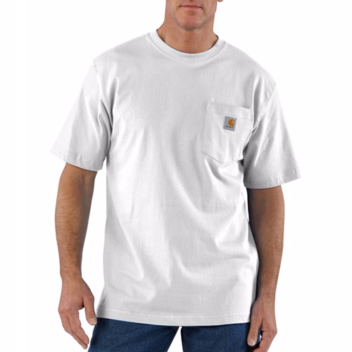 Workwear T-Shirt (WHITE) - CHTK87WH[화이트]칼하트 티셔츠