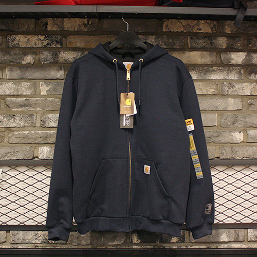 [칼하트] 써멀 후드집업 Carhartt Thermal Lined Zip Front Hooded Sweatshirt (NAVY) - CHT100632NV
