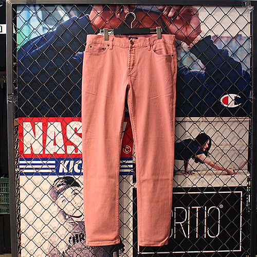 [허프] 5 POCKET BULL DENIM (RUSTY ROSE) - HFA17PT001RO [허프 HUF 팬츠]
