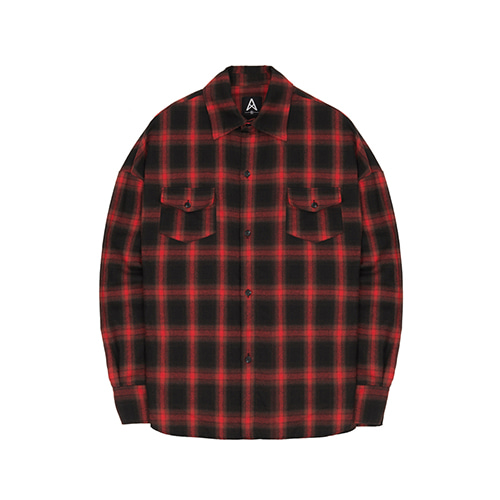 [011] Flannel Shirts (red) [셔츠]