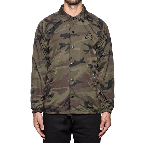 [허프]TRIPLE TRIANGLE COACHS JACKET (CAMO) - HF17WJKBSC029CM [허프 HUF 코치자켓]