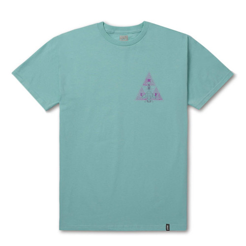 DISASTER OPS TRIPLE TRIANGLE T (CELADON) - HFTS00322CL [허프 HUF 반팔티]