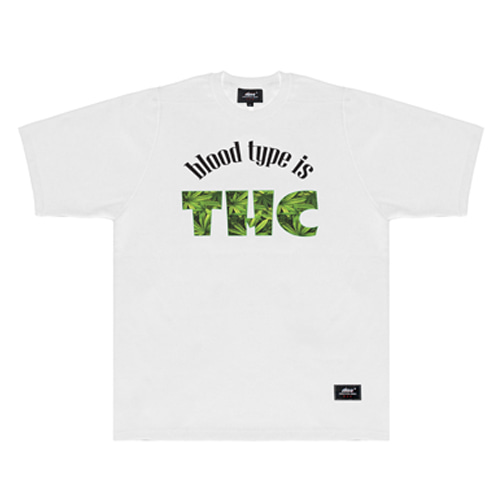 ABV SW TSHIRTS - BLOOD TYPE IS THC_ABV1GFF