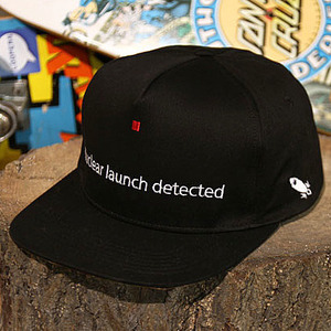 스냅백 [15%할인+10%쿠폰] [빅스텝 단독] NUCLEAR LAUNCH DETECTED SNAPBACK (BLACK) - WTACC14HT107