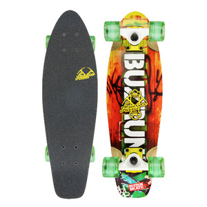 "버즈런 24"" Wood Cruiser board - Farm_Orange 크루저보드 - BZCR24WOOD7"