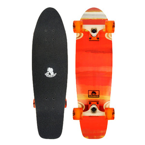 "버즈런 28"" Wood Cruiser board - Cuba_Orange 크루저보드 - BZCR28WOOD6"