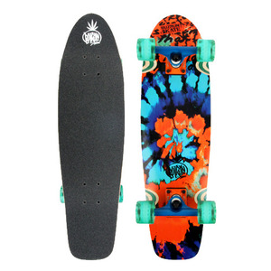 "버즈런 28"" Wood Cruiser board - Prisma_Dark 크루저보드 - BZCR28WOOD8"