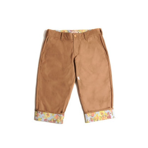 크리틱 7부 반바지 STAG BEETLE CROPPED PANTS (TAN) - CTOHUCS01UY1