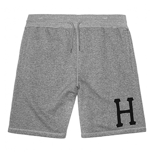 HUF CLASSIC H FLEECE SHORT (HEATHER GRAY) - HFPT52006HTR [허프 HUF 반바지]