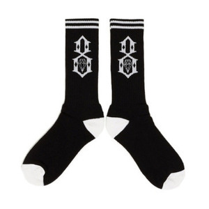 양말 LOGO Socks (BLACK) - REBEL8_16SC02