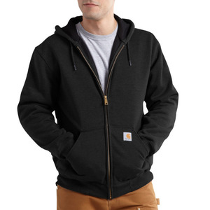 [칼하트] 써멀 후드집업 Carhartt Thermal Lined Zip Front Hooded Sweatshirt (BLACK) - CHT100632BK