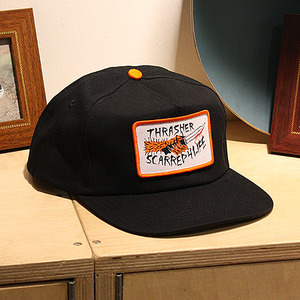 [트레셔]스냅백 SCARRED SNAPBACK (BLACK) - THR_HW008