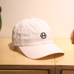 [허프] CIRCLE H CURVE VISOR 6 PANEL (WHITE) - HFA17HT00018WH [허프 HUF 볼캡/모자]