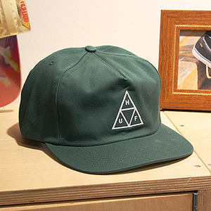 [허프] TRIPLE TRIANGLE SNAPBACK (DARK GREEN) - HFA17HT025DG [허프 HUF 스냅백/모자]