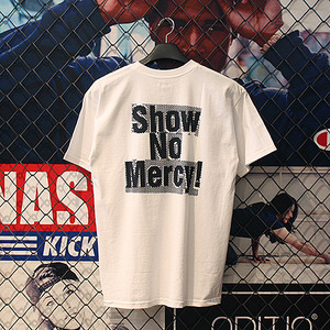 SHOW NO MERCY TEE (WHITE) - HFA17TS043WH [허프 HUF 반팔티]