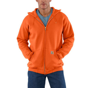 [칼하트] 후드집업 Carhartt Midweight Zip Front Hooded Sweatshirt (Orange) - CHTK122OR