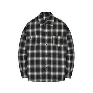 [011] Flannel Shirts (white) [셔츠]