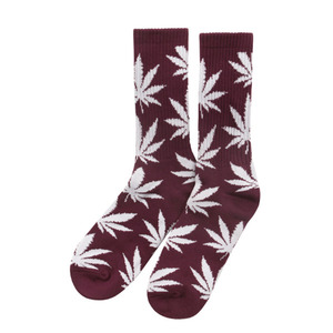 [허프] PLANTLIFE CREW SOCK (WINE/WHITE) - HFSPSK016 [허프 HUF 양말]