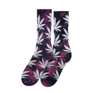 [허프] TIE DYED PLANTLIFE CREW SOCK (PINK PURPLE) - HFSPSK025 [허프 HUF 양말]