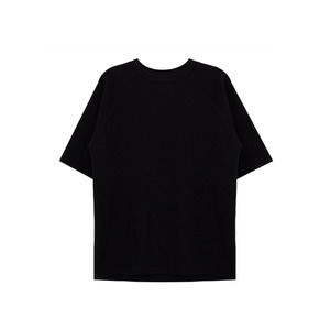 [011] 래글런 반팔티 Raglan Short Sleeve (black)