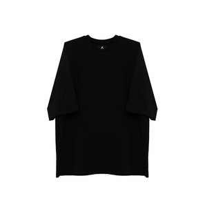 [011] 반팔티 Over Size Short Sleeve (black)_B01117SP001
