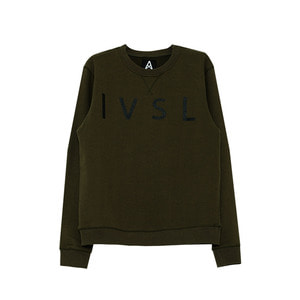 [011] 스웨트 셔츠 Invisible mtm (khaki)