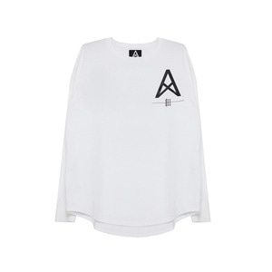 [011] 긴팔티 011 Logo Long Sleeve (white)