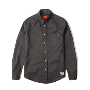 크리틱 긴팔셔츠 MONOGRAM SHIRTS (GREY) - CTOFALS02MGY